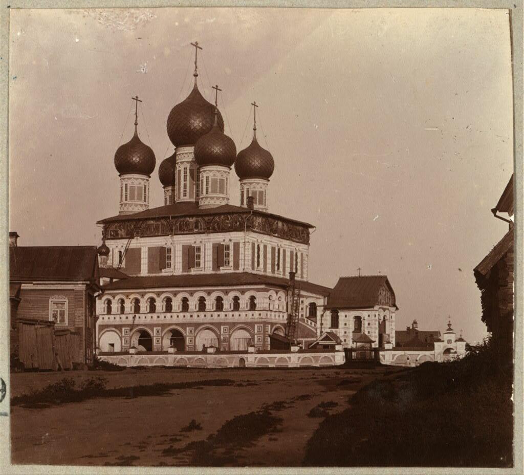 Воскресенский собор в Борисоглебске. 1910