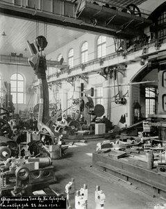 Форштевень эскадренного броненосца «Князь Суворов», Обуховский завод, 22 мая 1902