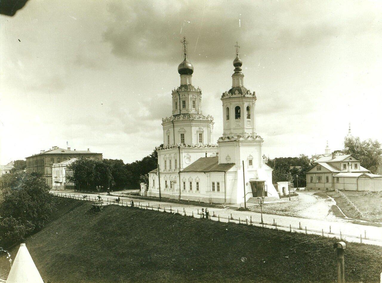 Георгиевская церковь. Верхне-Волжская набережная
