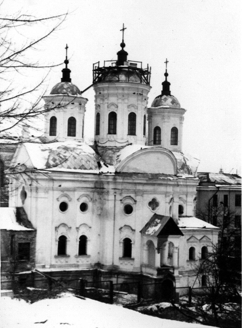 Покровская церковь на Подоле. 1980 год