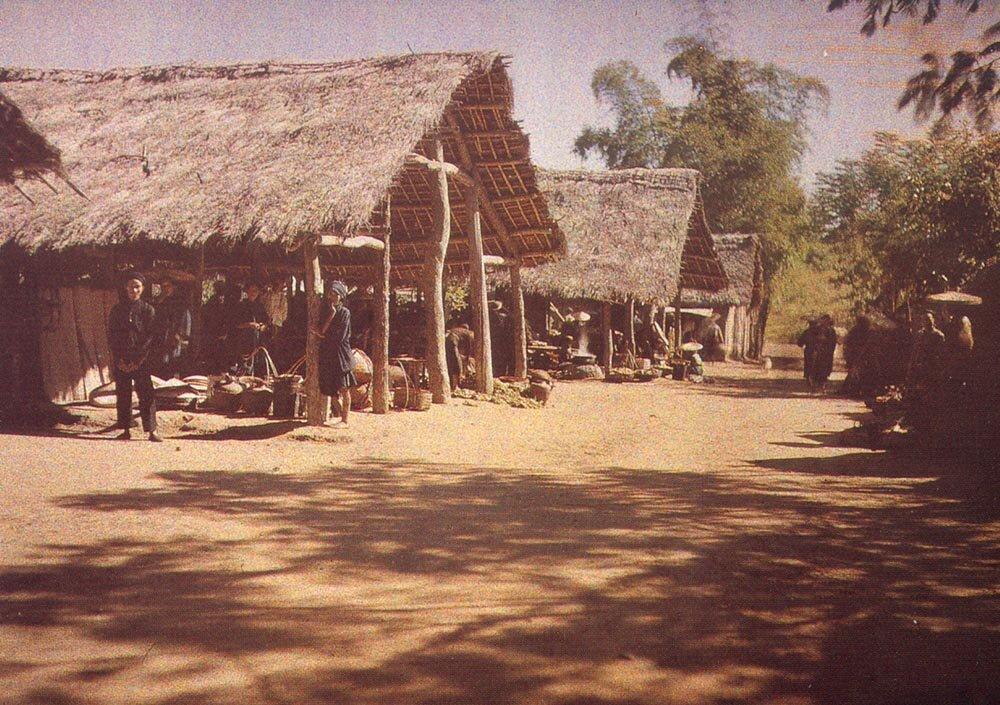 Деревенский рынок, 1915