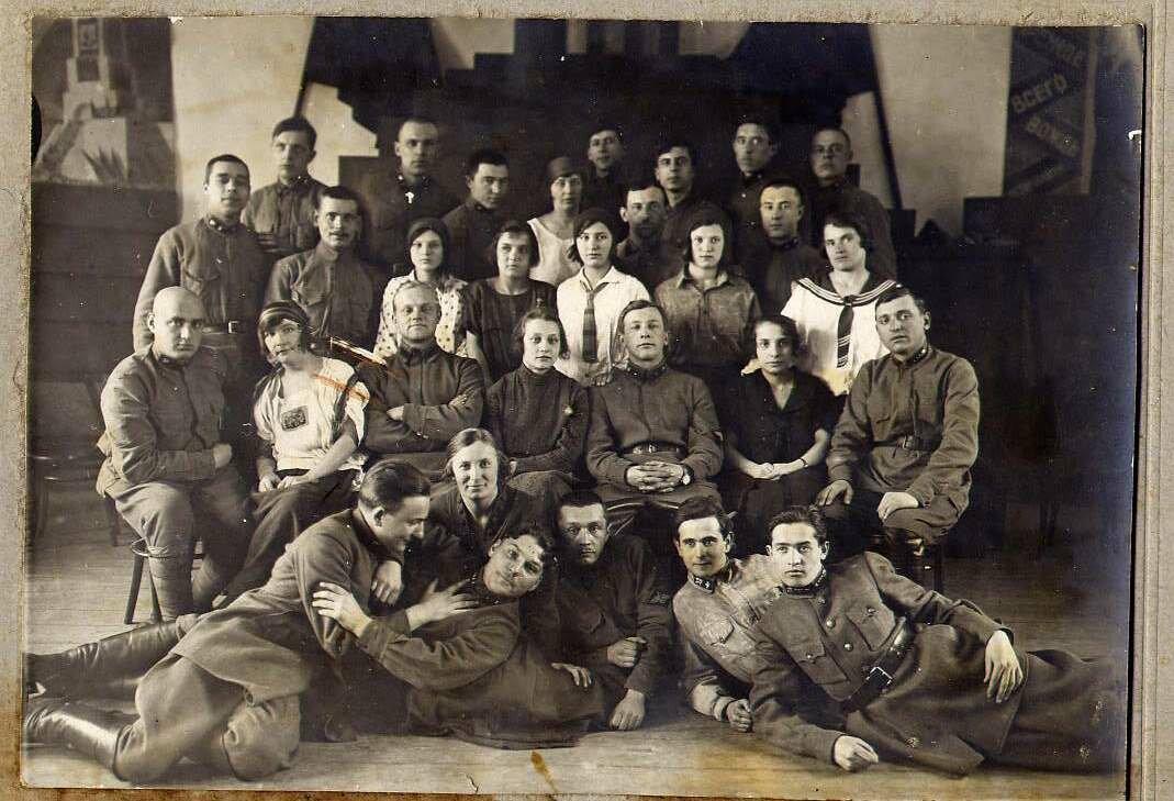 1926. Русский драмкружок 4-го ж.д.полка, Киев