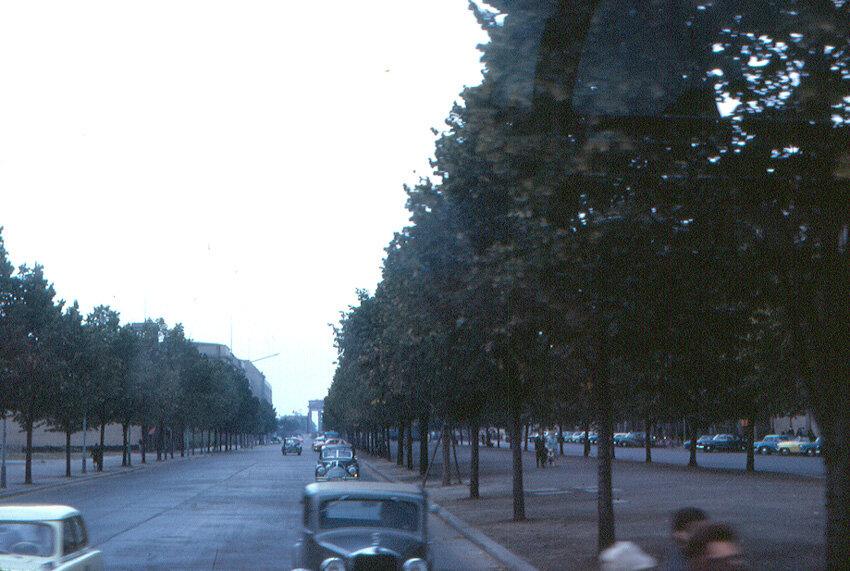 1963. Восточный Берлин - Унтер-ден-Линден