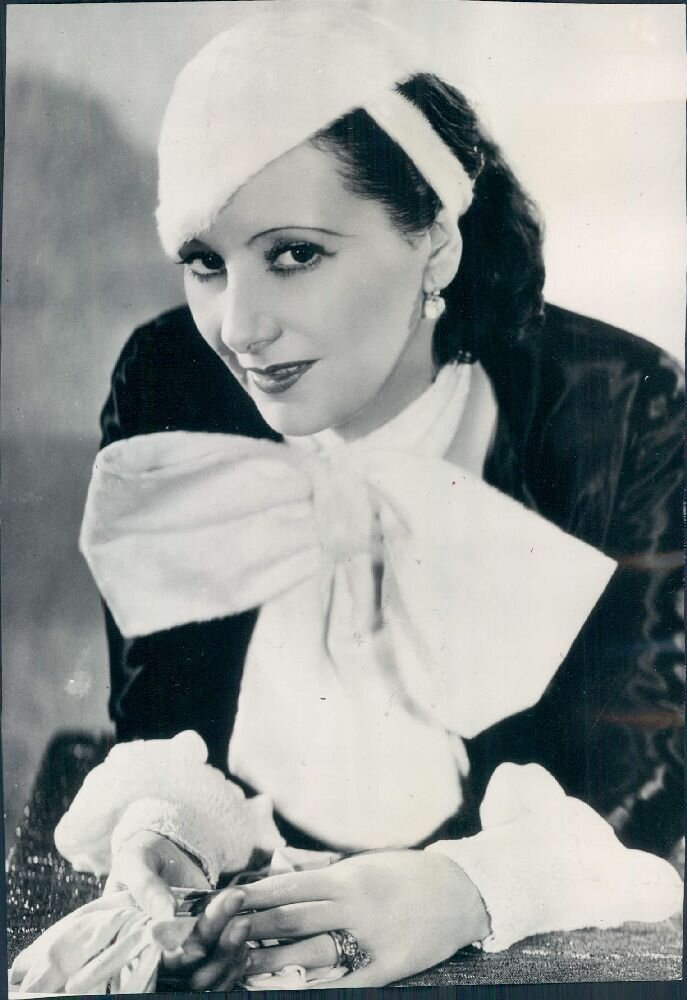 1931. Немецкая актриса Лиль Даговер, звезда Голливуда