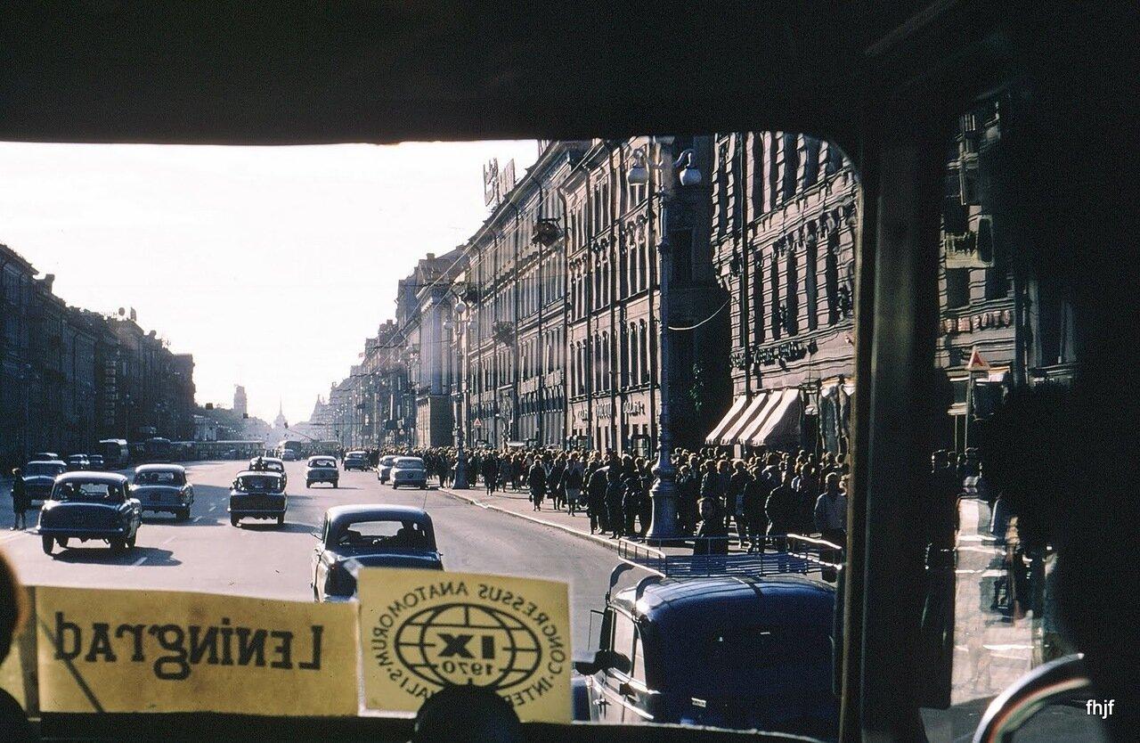 Nevsky Ave rush hour