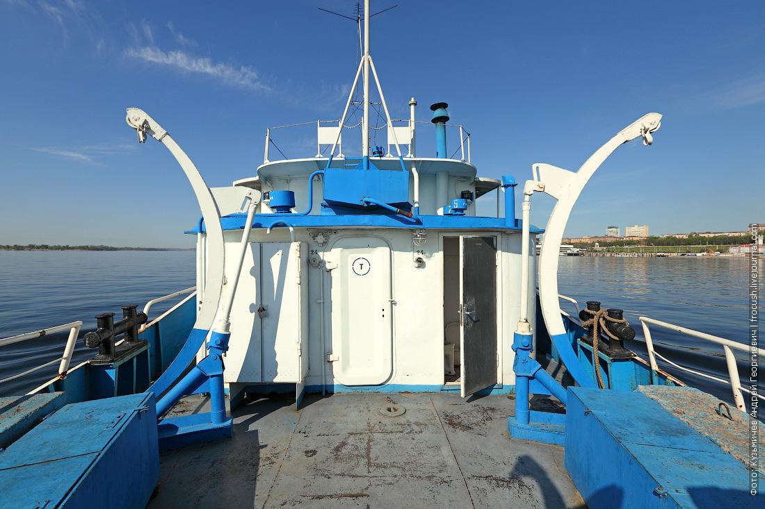 корма теплохода ОМ-152