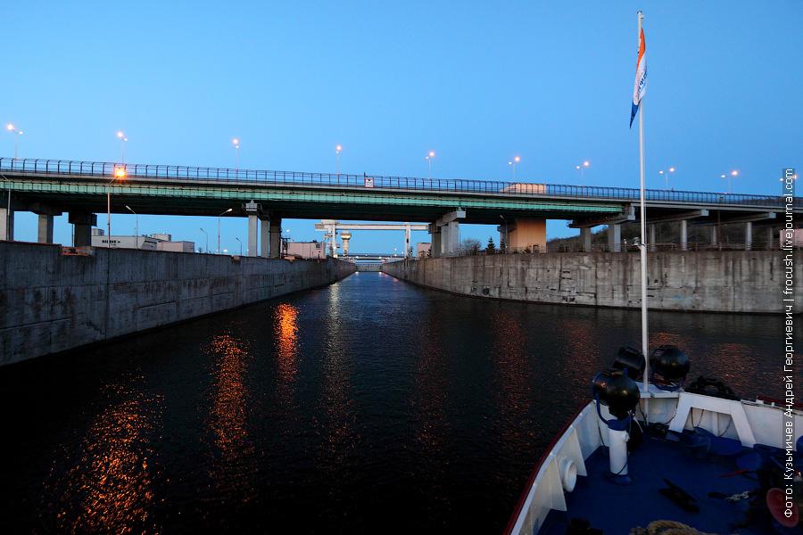 шлюз Чебоксарской ГЭС