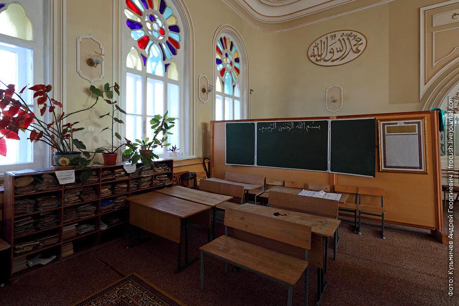 Интерьеры Азимовской мечети