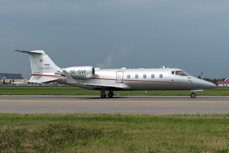 Learjet 60XR (OE-GVF) Vista Jet DSC_1637