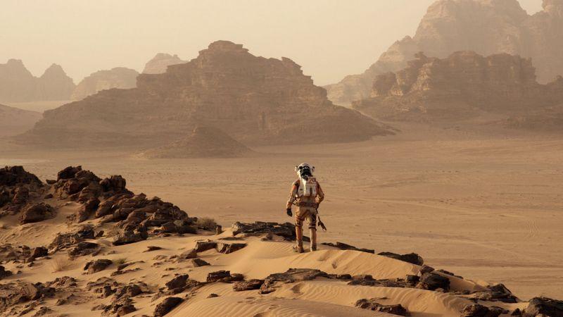 Одинокий на Марсе