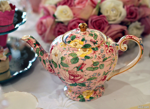 美翻了!Vintage复古茶壶水杯摆设照片欣赏