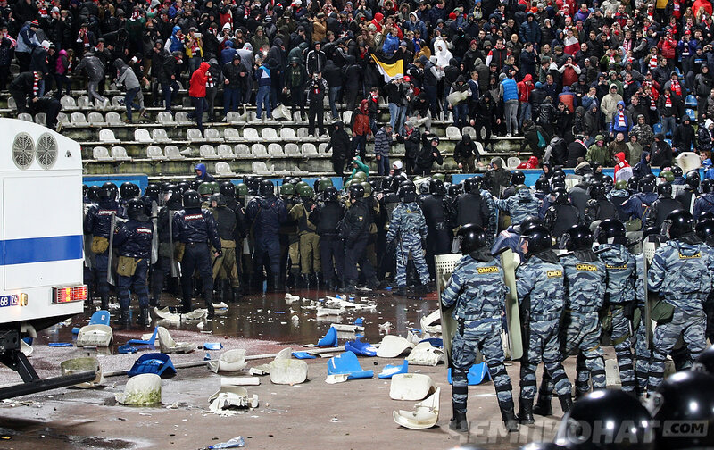 «Шинник» vs «Спартак» 0:1 1/16 Кубок России 2013-2014 (Фото)
