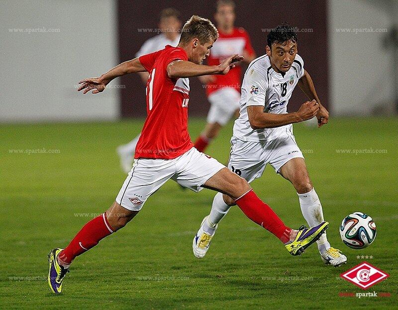 «Спартак» vs «Бунедкор» 2:1 контрольный матч 2014 (Фото)