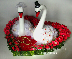 Лебеди на свадьбу своими руками мастер класс из шаров