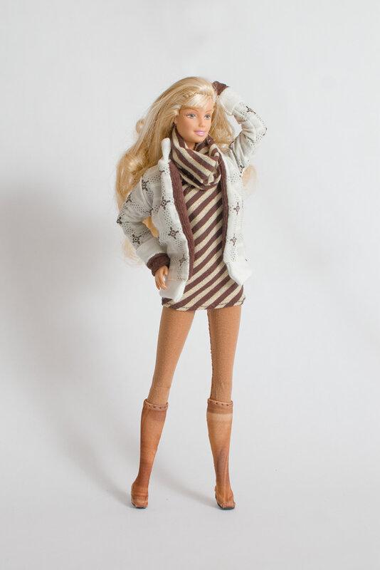 Платье для кукол барби своими руками выкройки