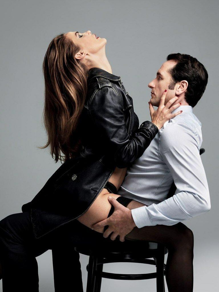Кери Расселл и Мэттью Риз для GQ (4 фото)