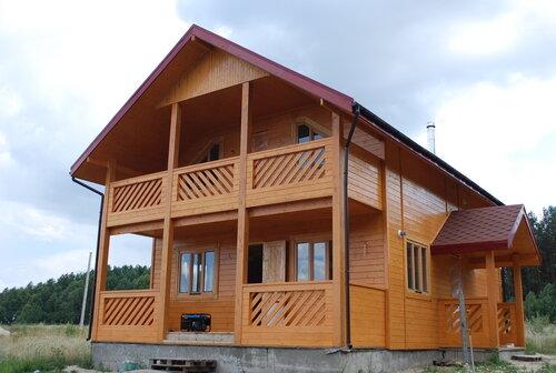 Каркасный дом не дорого, но долговечно