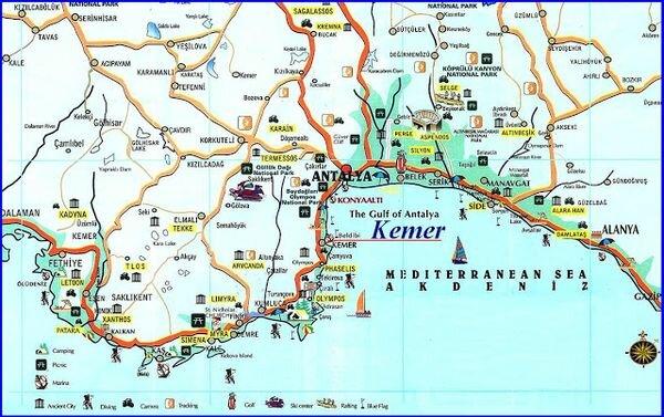 Кемер - особый регион по