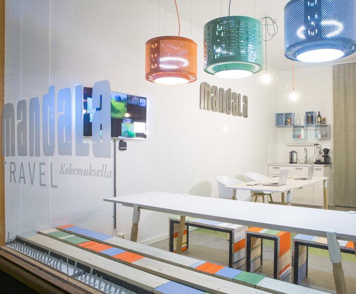 Эко-дизайн интерьера офиса