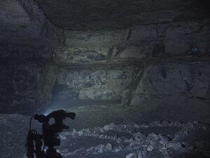 Налобный фонарь Spark SX5-350 CW, в среднем режиме светит так
