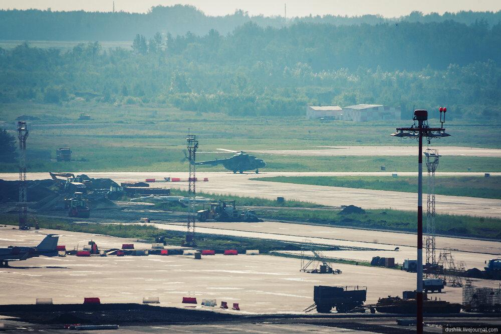 Летний споттинг в Кольцово. Часть 2