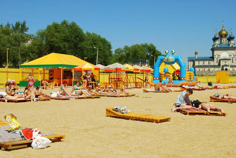 Пляж песчаный (24.06.2013)