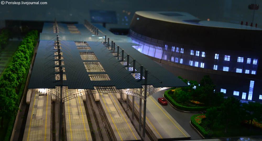 А это шанхайский вокзал Хунцяо