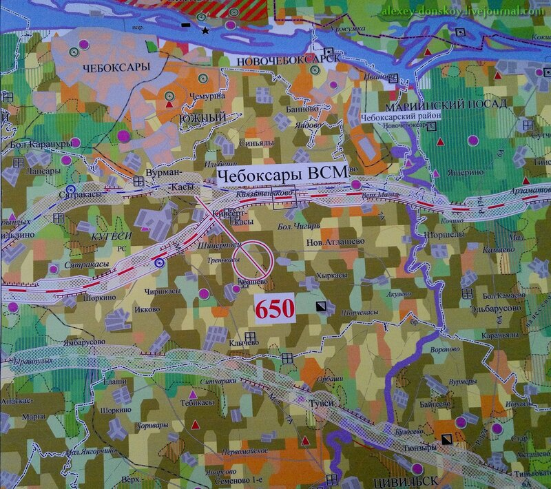 Проект прохождения ВСМ по Чувашии