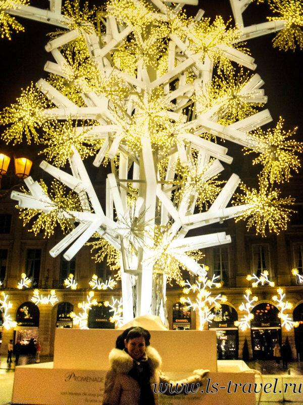 Вандомская площадь Париж;