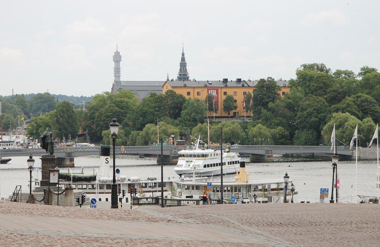 Стокгольм, Дворцовый холм. Stockholm, Slottsbacken,