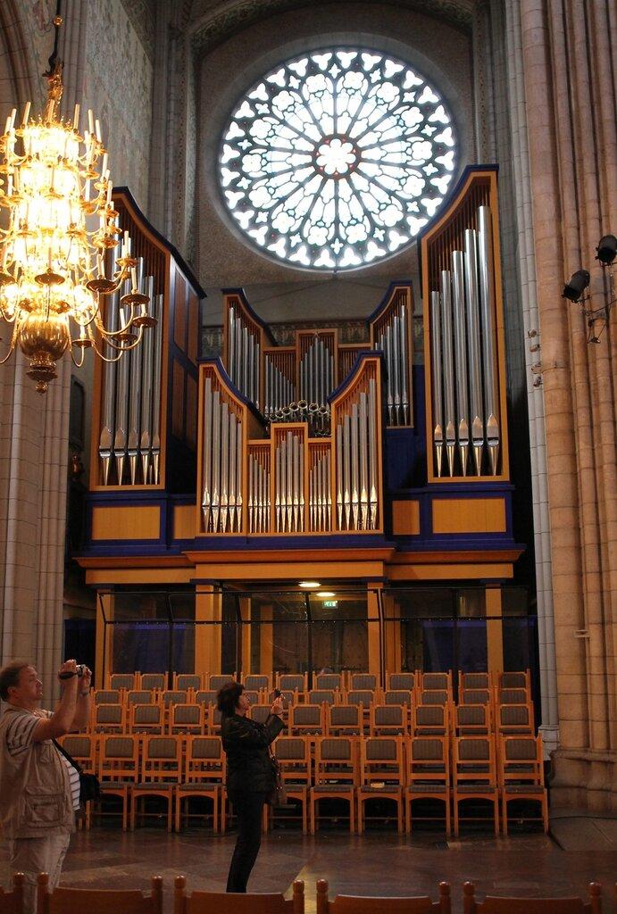 Уппсала. Кафедральный собор. Новый орган, Ruffattiorgeln, New organ. Uppsala, Cathedral