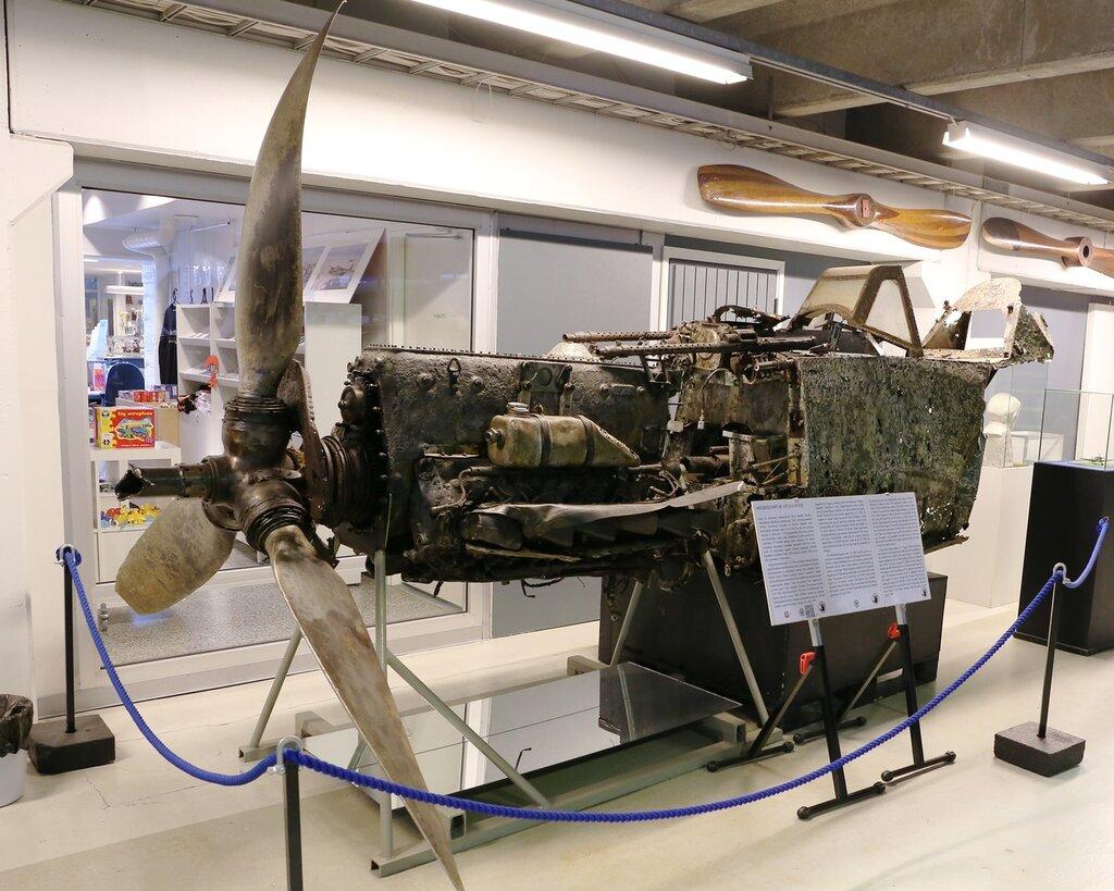 Авиамузей Хельсинки-Вантаа. Messershmitt BF109, Finnish Aviation Museum