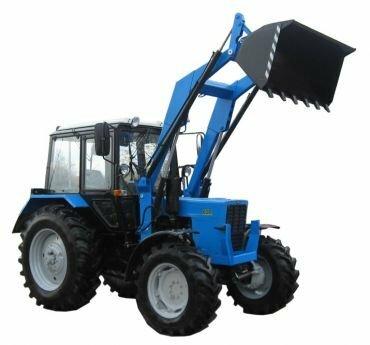 трактор с погрузчиком фронтальный погрузчик для мтз 82