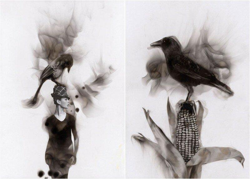 «Рисование» рвотой и еще 10 самых шокирующих способов создания картин художниками