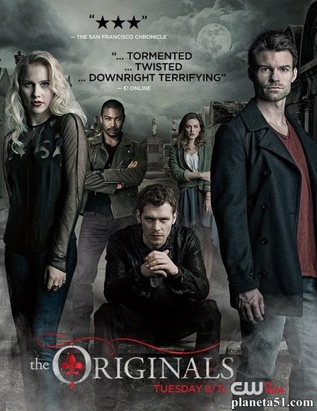 Древние / Первородные / The Originals - Полный 1 сезон [2013, WEB-DLRip | WEB-DL 720p, 1080p] (LostFilm)