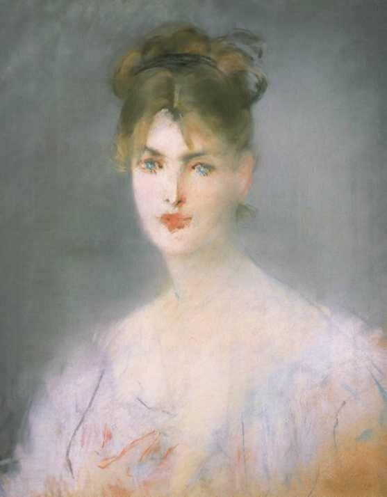 Édouard Manet - Tête de Jeune Femme