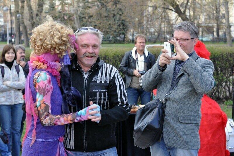 Первомайский праздники в парке Музеон