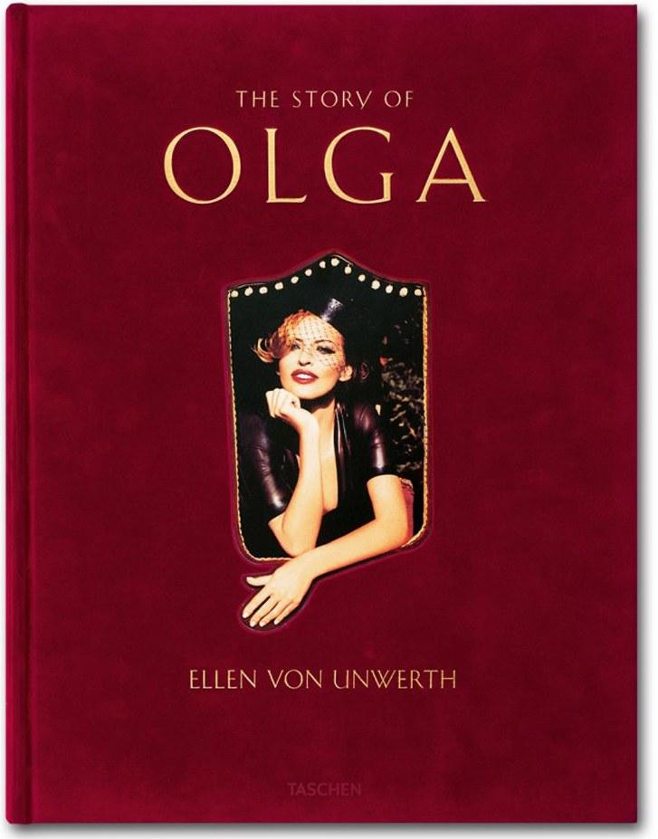 Эротическая фотокнига The Story of Olga - Ольга Родионова, фотограф Ellen von Unwerth