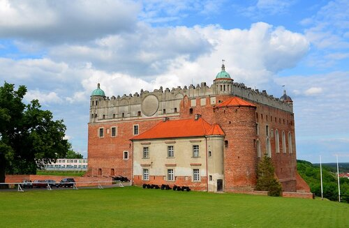 Замок Голлуб, фото Алексея Лялюлина, 2012 г.