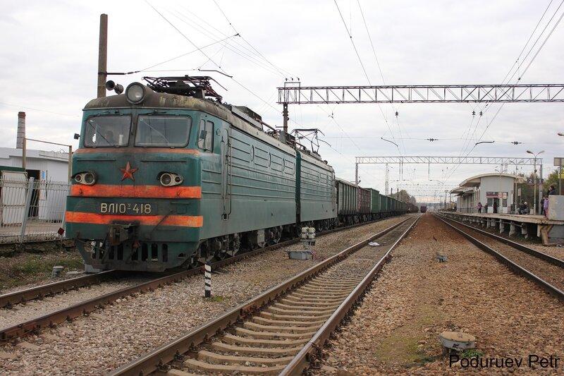 ВЛ10у-418 на станции Дедовск
