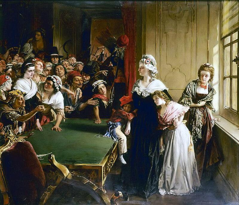 本TUILLERIES,第20 1792年6月