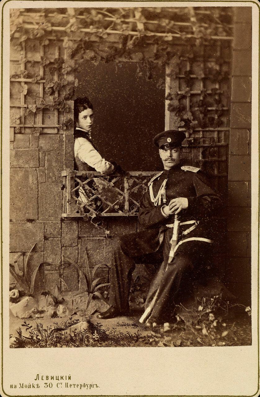 1872. Цесаревич Александр и  цесаревна Мария Федоровна