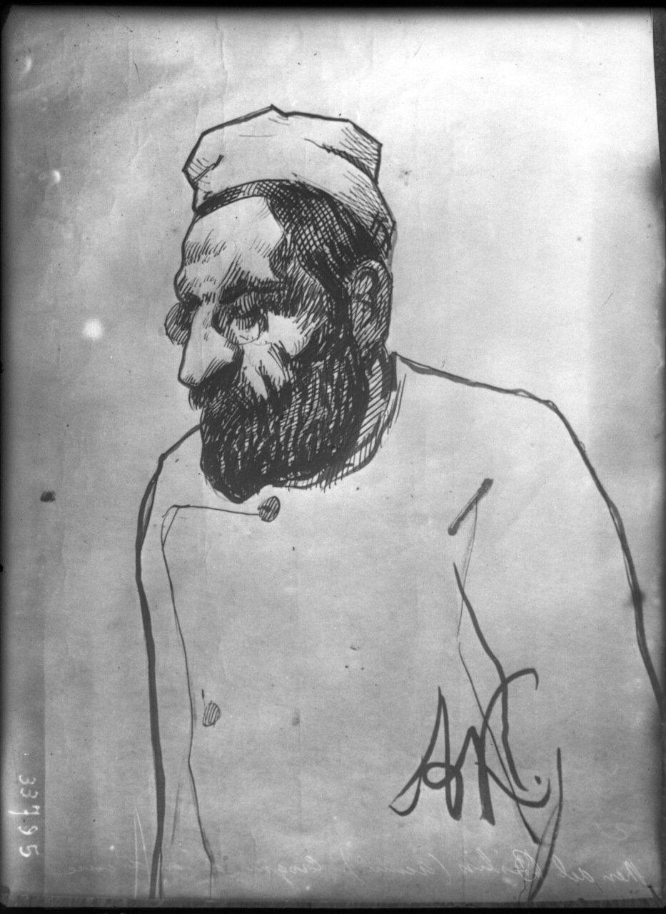 Мендель Бейлис на суде в октябре 1913 года в Киеве