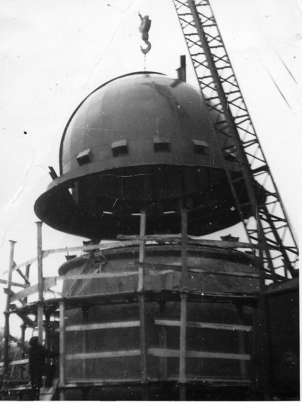 Строительство павильона 1913 г.