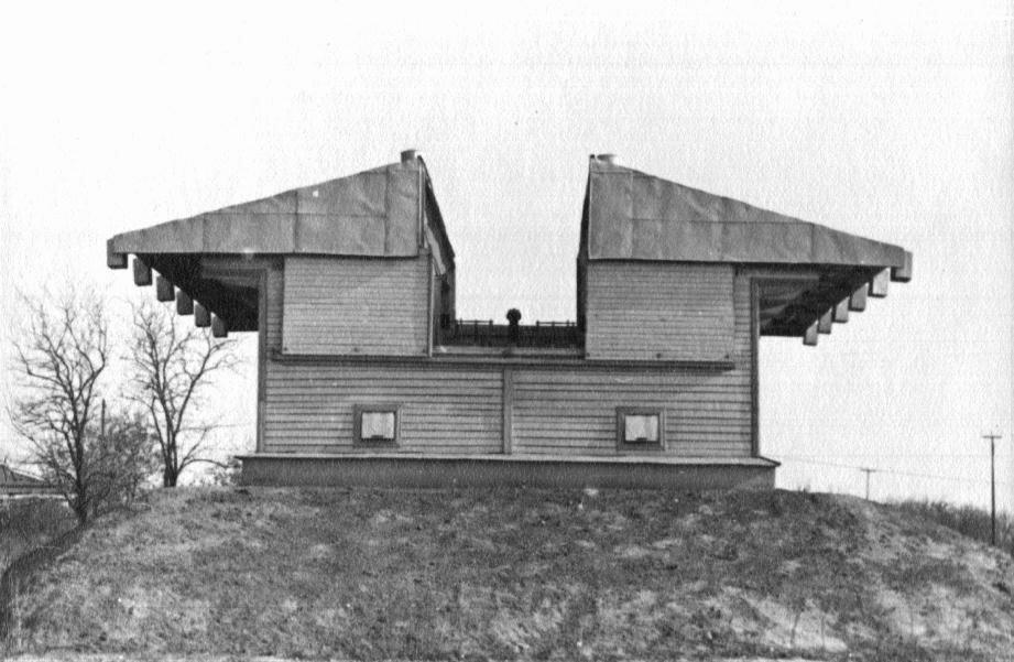 Павильон МКР в 60-е годы.