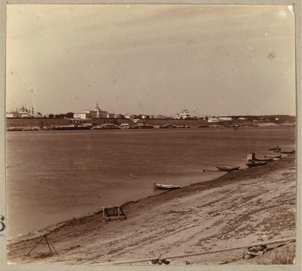 Ярославль. Общий вид с Тверицы. 1910.