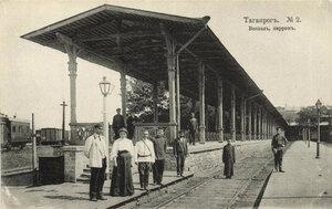 Вокзал, перон