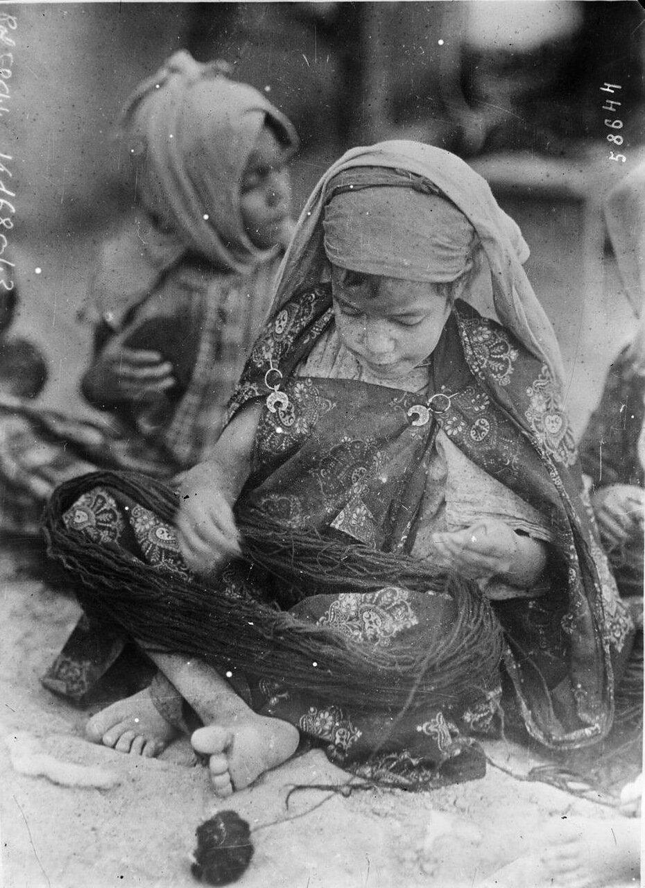 Арабский детский труд. 1920