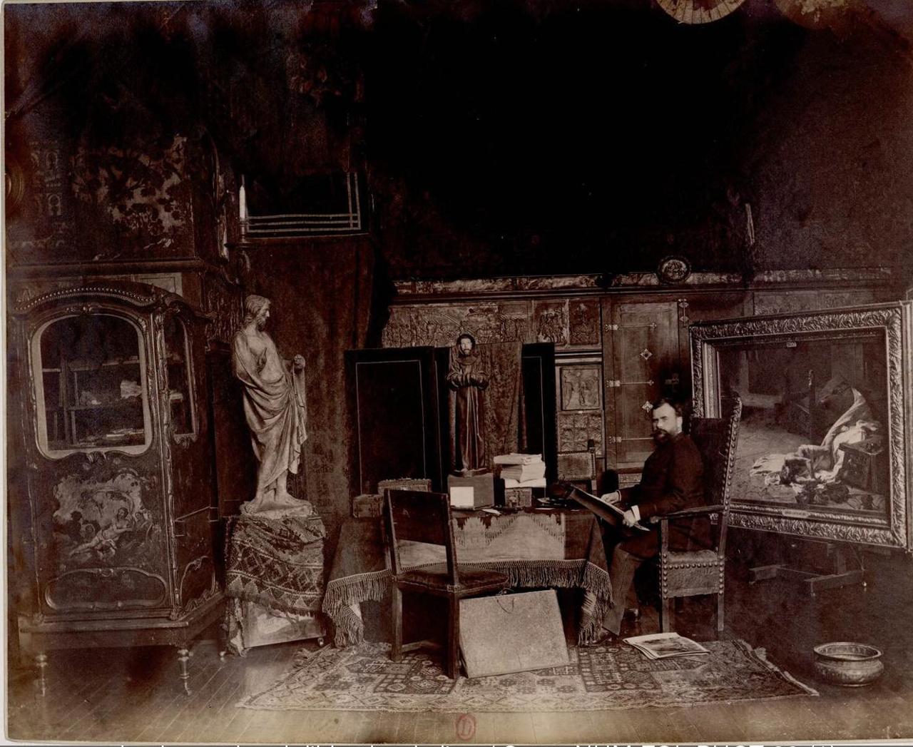 Альбер Пьер Рене Меньян (1845-1908) художник