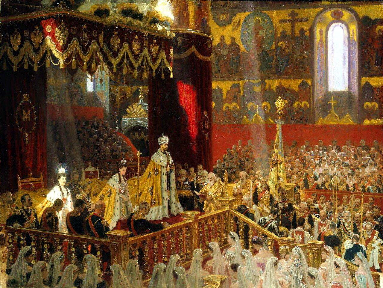 Лауриц Туксен (1853-1923). Коронации императора Николая II и императрицы Александры Федоровны